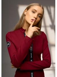 """Платье  """"NICESTYLE"""" бордовое"""
